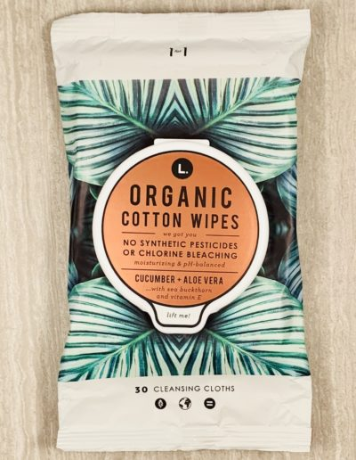 Organic Cotton Wipes