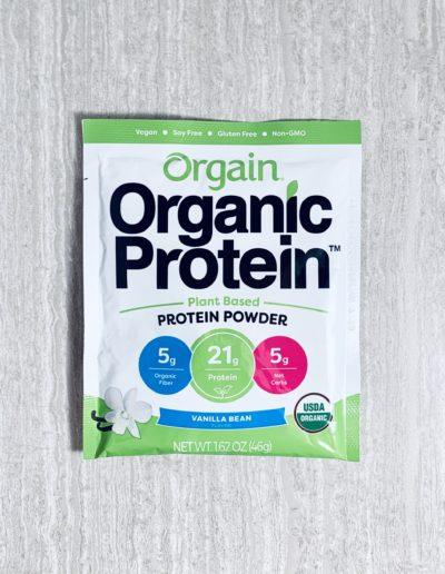 Organic Protein - vanilla bean