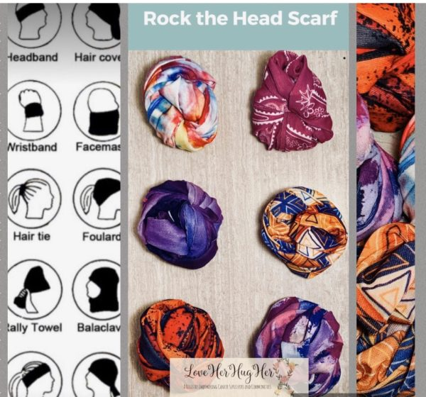 HEAD WRAP/SCARF MULTI PATTERN