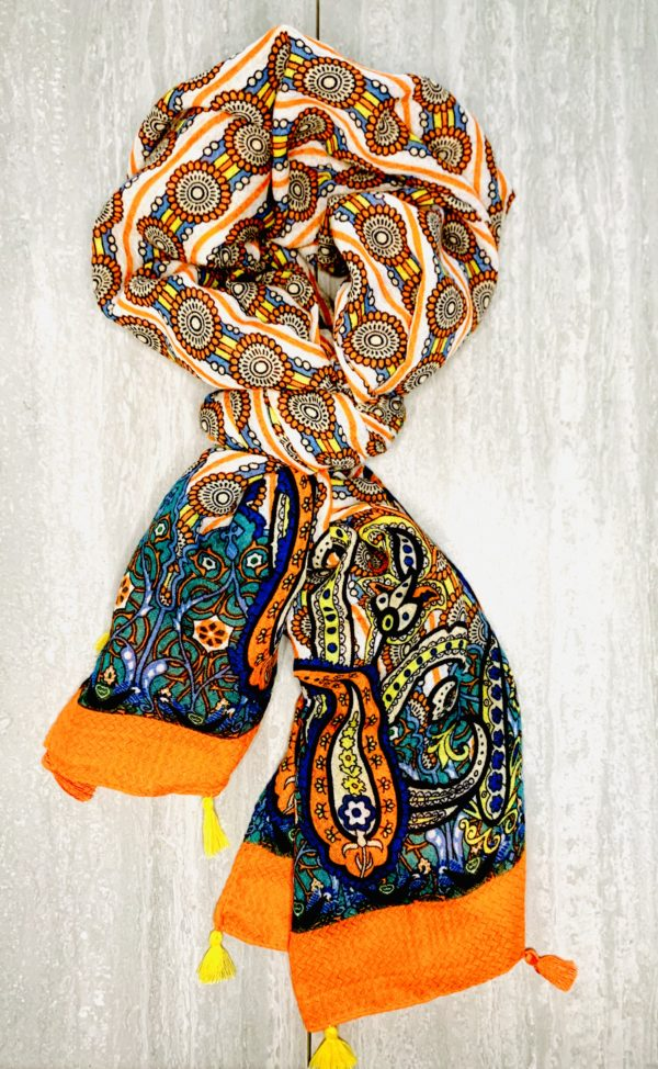 Cancer Care Package fall scarf